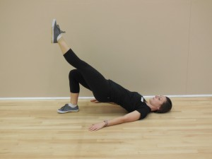 Single leg hip thrust 2 - sylvia