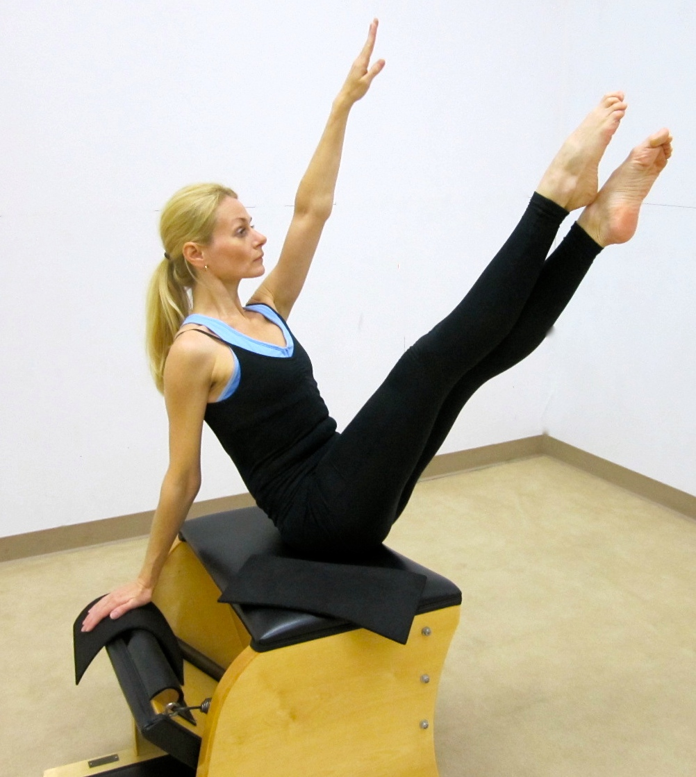 Pilates Exercise Of The Month Side Body Twist On Pilates Chair